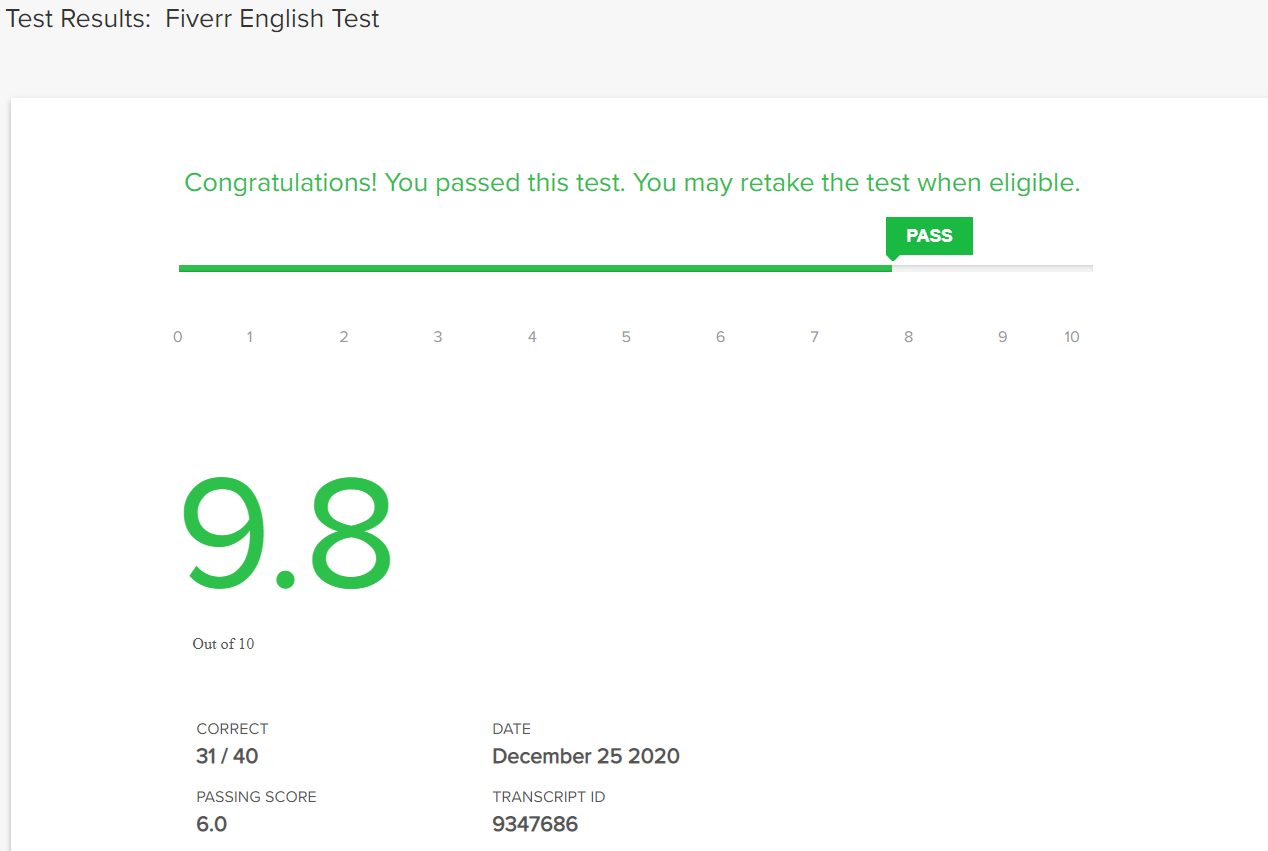 Fiverr English Test Answers 2021 Updated (All in One)